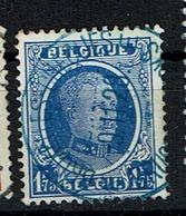 257  Obl Bleue BXL Chéques - 1922-1927 Houyoux