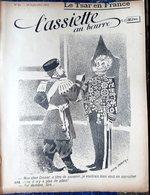 RUSSIE RUSSIA ALLIANCE FRANCO RUSSE  NICOLAS 2  ASSIETTE AU BEURRE N° 25 BON ETAT GRAVURES 1901 - Livres, BD, Revues