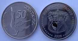 GALAPPAGOS 2008 25 CENTAVOS SQUALO FDC - Monedas
