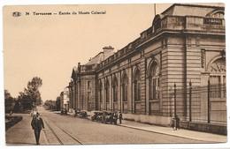 CPA PK  TERVUEREN  ENTREE DU MUSEE COLONIAL  CARTE ANIMEE - België