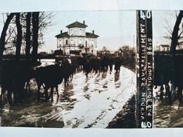 Guerre 1914-18 -  VERDUN - Ravitaillement Par Bourriquots- Plaque De Verre StéréoscopiqueTBE - Diapositiva Su Vetro