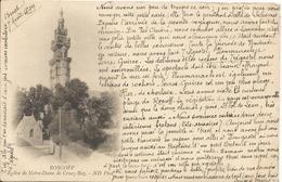 ROSCOFF  /  Correspondance  Touristique  Intéressante Sur La Bretagne  /  Cpa Expédiée à FORT-MAHON  En 1899 ( Vr Scan ) - Roscoff