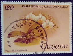 Guyana 1985 Fleur Flower Orchidée Orchid Yvert 1239 O Used - Guyane (1966-...)