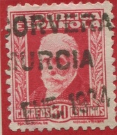 Corvera. Murcia. Cartería Especial. - 1931-Aujourd'hui: II. République - ....Juan Carlos I