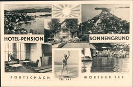 Pörtschach Am Wörther See MB Hotel Pension Sonnengrund 1950 Privatfoto - Österreich