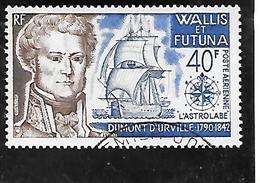 TIMBRE OBLITERE DE WALLIS ET FUTUNA DE 1973 N° YVERT PA 46 - Used Stamps