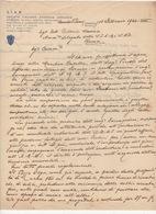 ^ CERRETO PIANO SCANSANO GROSSETO MINIERA SIAM ANONIMA MERCURIO MINIERA DOCUMENTO 54 - Vecchi Documenti