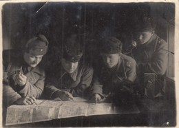 RUSSIA # 2228  A PHOTO. HEAD PULKOVO. DEFENSE OF LENINGRAD. WINTER 1943  *** - Guerra, Militares