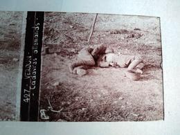 Guerre 1914-18 - VERDUN- Cadavres Allemands-  Plaque De Verre Stéréoscopique-TBE - Diapositiva Su Vetro