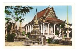 CP CAMBODGE - UNE PAGODE - PHOTO NGOC HAI SAIGON - CAMBODIA - A PAGODA - NON CIRCULEE - - Cambodge