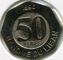 Liban Lebanon 50 Livres 1996 UNC KM 37 - Libanon