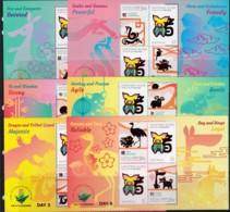 Christmas Island 2019 China World Stamp Exhibition Set Of 6 Daily Minisheets MNH - Christmas Island