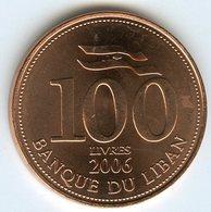 Liban Lebanon 100 Livres 2006 UNC KM 38b - Libanon