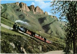 ROCCHETTE - ASIAGO  VICENZA  Ferrovia A Cremagliera  Locomotiva A Vapore  Monte Paù  Cachet Rifugio Al Granatiere - Vicenza