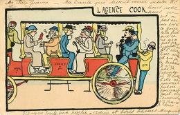 Agence De Voyage Cook  Attelage Tramway Tram Autobus - Taxi & Carrozzelle