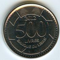 Liban Lebanon 500 Livres 2012 UNC KM 39a - Libanon