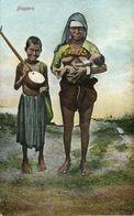 India, Native Beggars, Breast Feeding, Nursing, Surbahar (1910s) Postcard - India