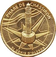 17 SAINT DENIS D'OLERON PHARE DE CHASSIRON MÉDAILLE SOUVENIR ARTHUS BERTRAND 2012 JETON TOURISTIQUE MEDALS TOKENS COINS - 2012