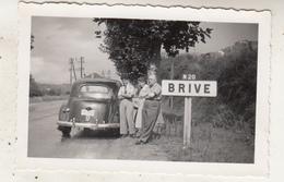Brive - Old Timer - Photo 6 X 9.5 Cm - Automobiles
