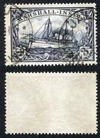 Allemagne, Colonie Allemande, Marshall, N°24 Oblitéré, Qualité Très Beau - Colonie: Marshall