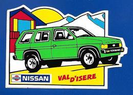 A.C.  VAL D'ISERE NISSAN - Autocollants