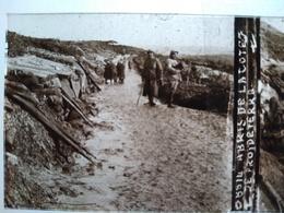 Guerre 1914-18 - Abris De La Côte De Froideterre - Plaque De Verre StéréoscopiqueTBE - Diapositiva Su Vetro