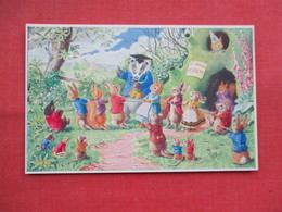Dressed Rabbits  The Tug O'War  Signed Racey Helps    Ref 3449 - Otros