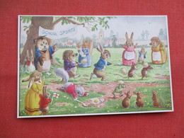 Dressed Rabbits  The Egg & Spoon Race  Signed Racey Helps    Ref 3449 - Otros