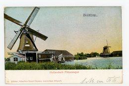 D104 Zaandam Molen Zwarte Kalf 1910 Gesloopt - Molen - Moulin - Mill - Mühle - Zaandam