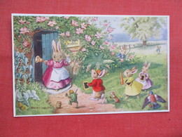 Dressed Rabbits  The Late Scholars    Signed Racey Helps    Ref 3449 - Otros