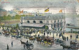 PC12488 Hamburg. Alster Pavillon. 1909. B. Hopkins - Cartoline