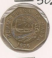 MALTA MALTE 25 CENTS  1975  209 - Malta