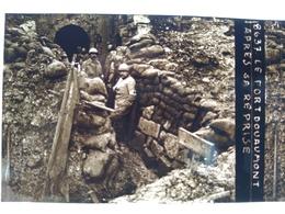 Guerre 1914-18 - Fort De Douaumont Après La Reprise -- Plaque De Verre StéréoscopiqueTBE - Diapositiva Su Vetro