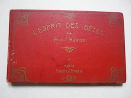 LIVRE D'ART - Reliure Contnant 4 Fascicules Oblongs De 14 Pages : L'ESPRIT DES BETES Par BENJAMIN RABIER - Livres, BD, Revues