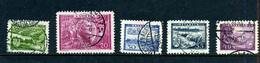 Lettonie 1938 De Y&T 231/237 ° - Lettonie