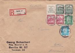 Brief Aus Berlin Nach Gotha  1932 Mit ZD - Deutschland