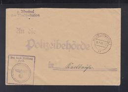 Dt. Reich Brief 2. Admiral Der Nordseestation 1941 Wilhelmshafen - Storia Postale