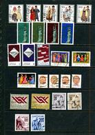 Lettonie 25 Timbres ° Différents 1991 1992 1993 - Lettonie