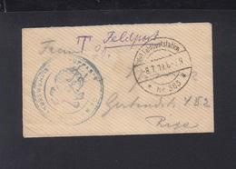 Dt. Reich Feldpost Kleinbrief 1919 - Briefe U. Dokumente