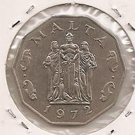 MALTA MALTE  50 Cents 1972 211 - Malta