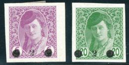 YU 1919 Zeitungsmarken Von Bosnien Und Herzegowina Mit Aufdruck Des Neuen Wertes - Ungebraucht
