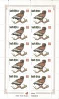 "South Africa 1998 R10 Bateleur Eagle :Redrawn Definitive"" Value In Full Sheet, MNH - Zuid-Afrika (1961-...)"