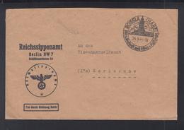 Dt. Reich Brief Reichssippenamt 1944 - Storia Postale