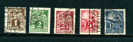Estonie 1922-25 5 Valeurs - Estonie