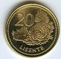 Lesotho 20 Lisente 1998 UNC KM 64 - Lesotho
