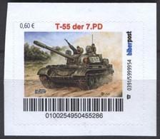 Biber Post T 55 Der 7. PD (Kampfpanzer NVA) (60) G857 - Privados & Locales