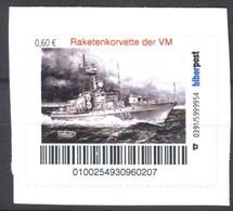 Biber Post Raketenkorvette Der VM (Volksmarine) (60) G865 - Privados & Locales