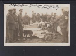 Germany WWI PPC British Pilot Shot Down Over Dau In France - Aviateurs