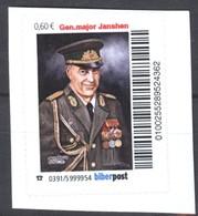 Biber Post Gen.major Janshen (Grenztruppen) (60) G868 - [7] Federal Republic