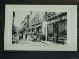 F13 - 11 - Quillan - Edition L. Escudié -  Grande Rue - Frankreich